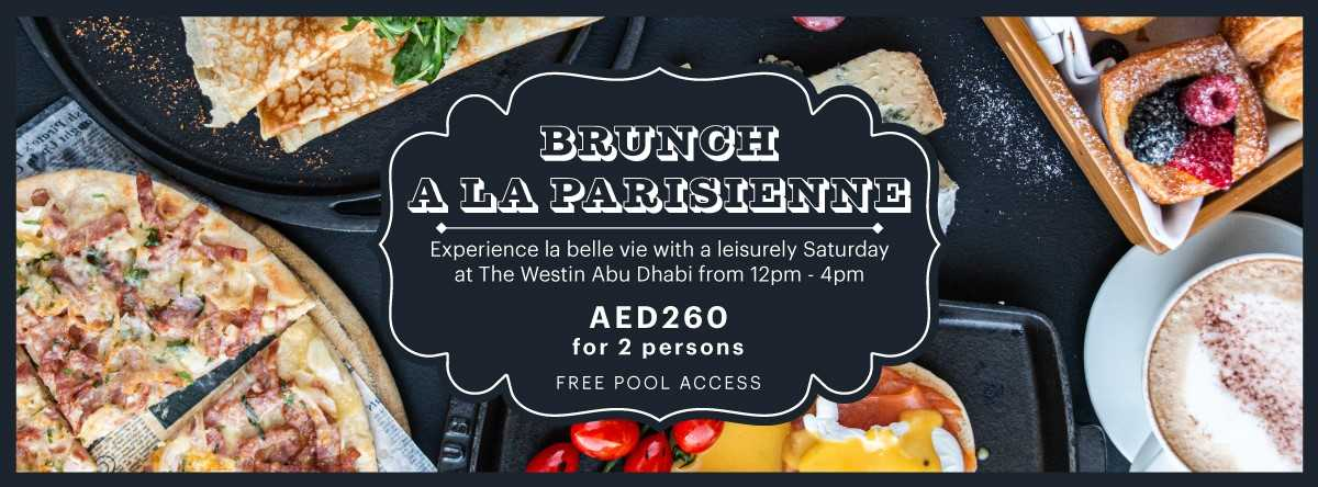 Brunch A La Parisienne @ Westin