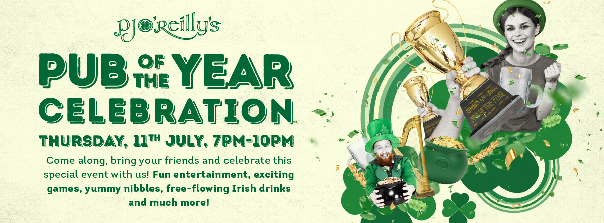 PJs Pub of The Year Celebrations