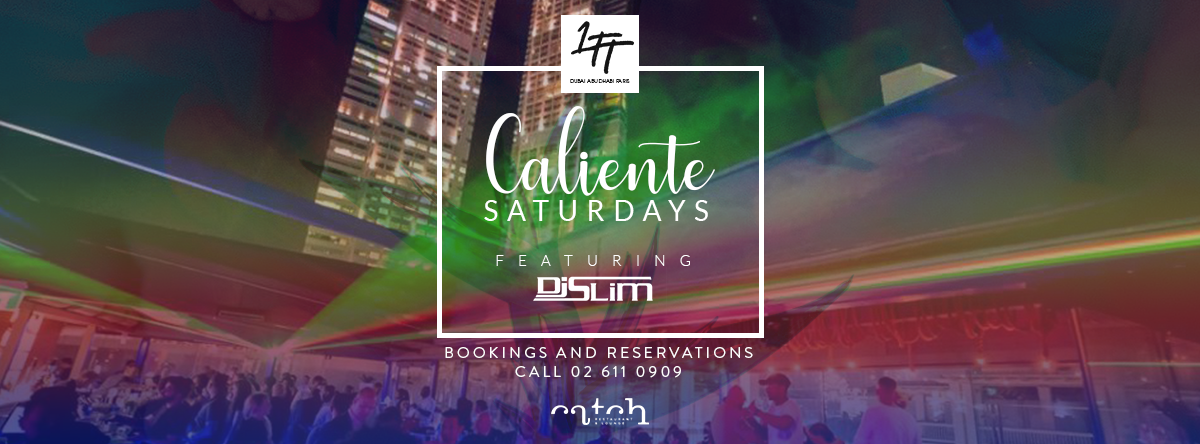Caliente Saturday @ Catch Roof