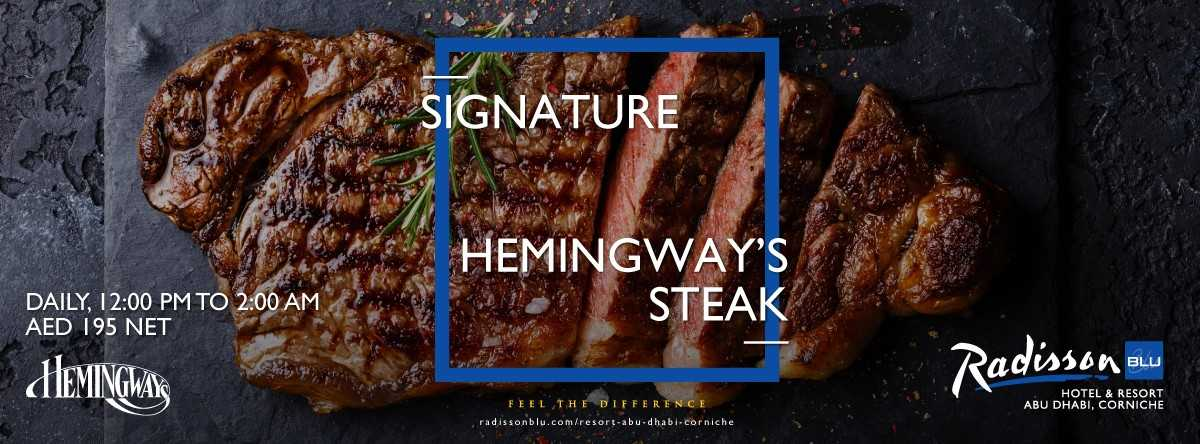 Signature Hemingway's Steak