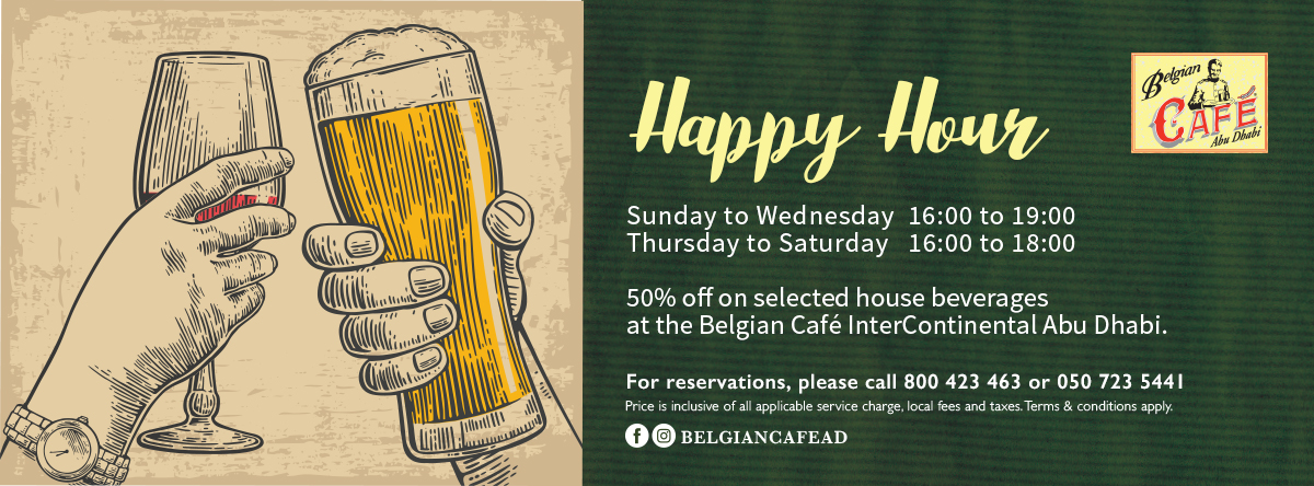 Happy Hour @ Belgian Café