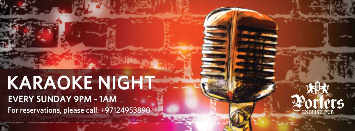 Karaoke Night @ Porters Pub