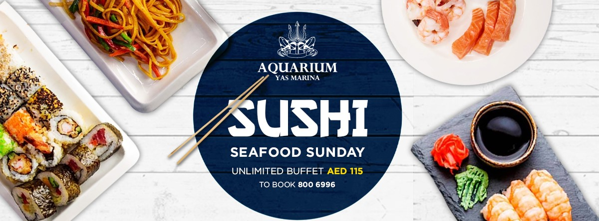 Sushi & Seafood Sunday - Ladies Night @ Aquarium