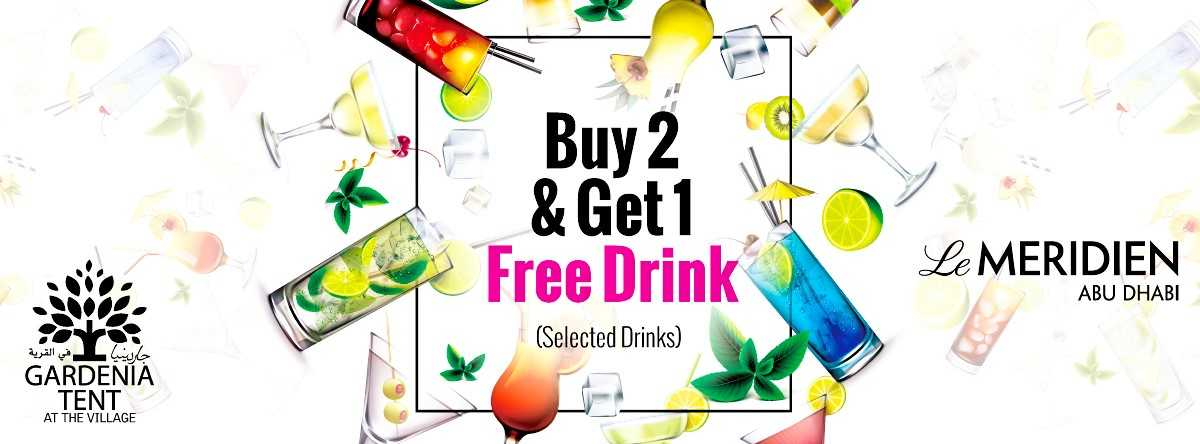 Buy 2 Get 1 FREE Offer @ Gardenia Tent