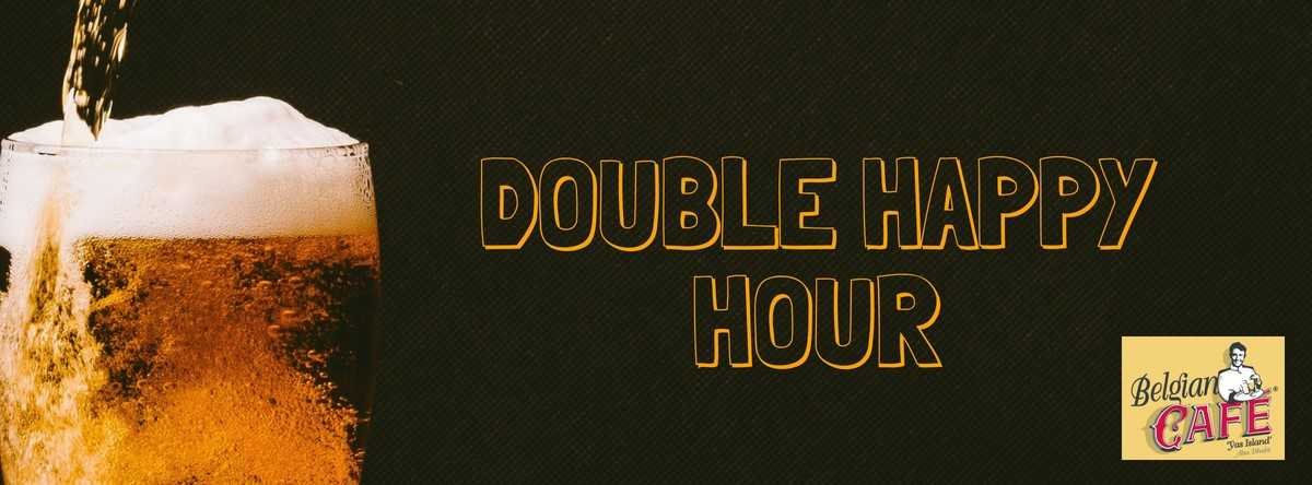 Daily Double Happy Hours @ Belgian Café Yas