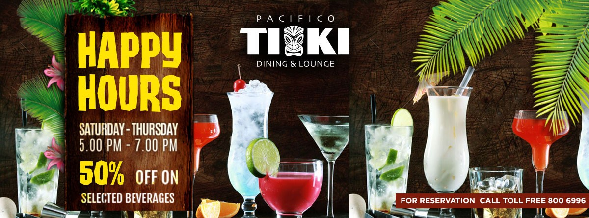 Tiki Happy Hours @ Pacifico Tiki