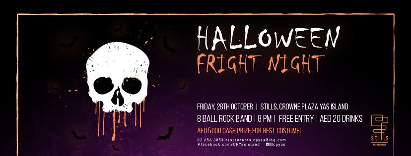 Halloween Friday Fright Night @ Stills