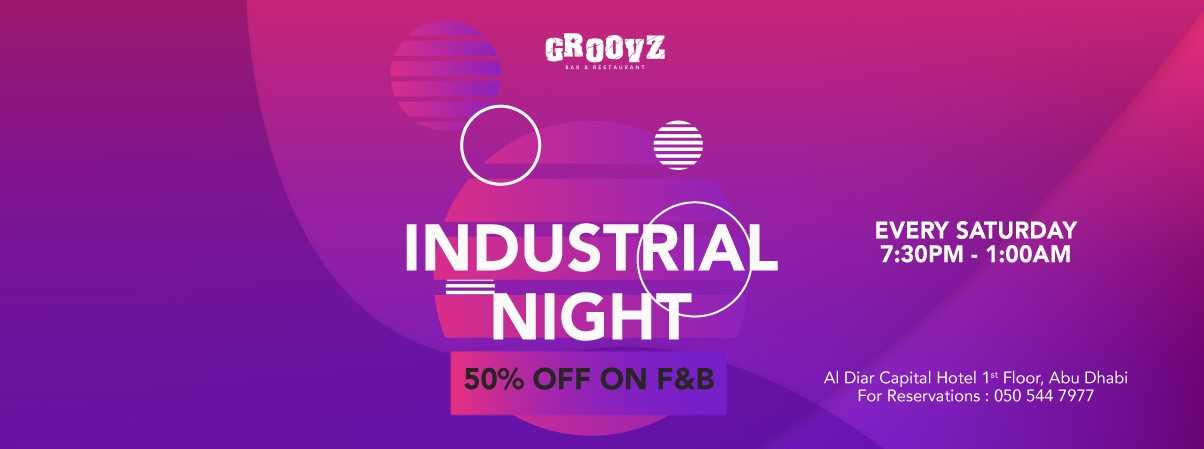 Industrial Night @ Groovz Abu Dhabi