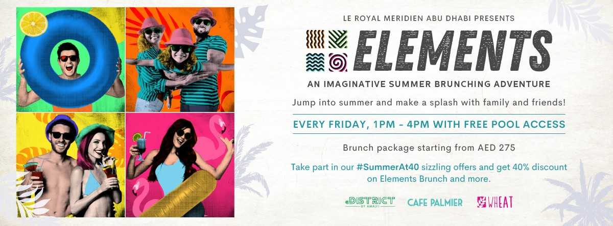 Elements Brunch @ Le Royal Meridien