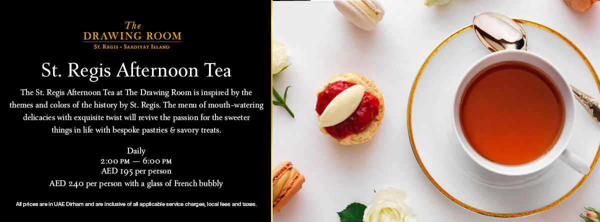 Fashion Afternoon Tea @ The Drawing Room