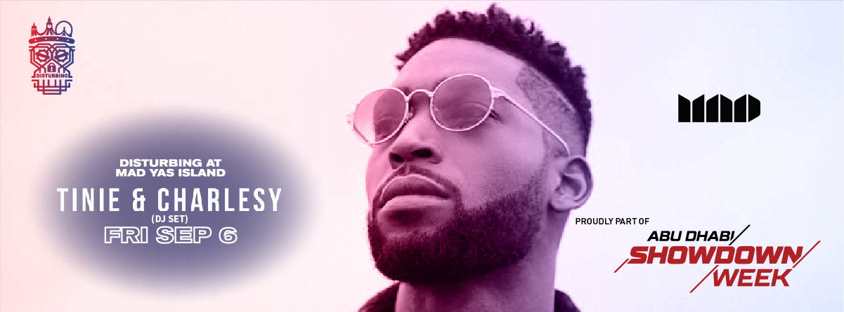 Tinie Tempah @ MAD on Yas Island