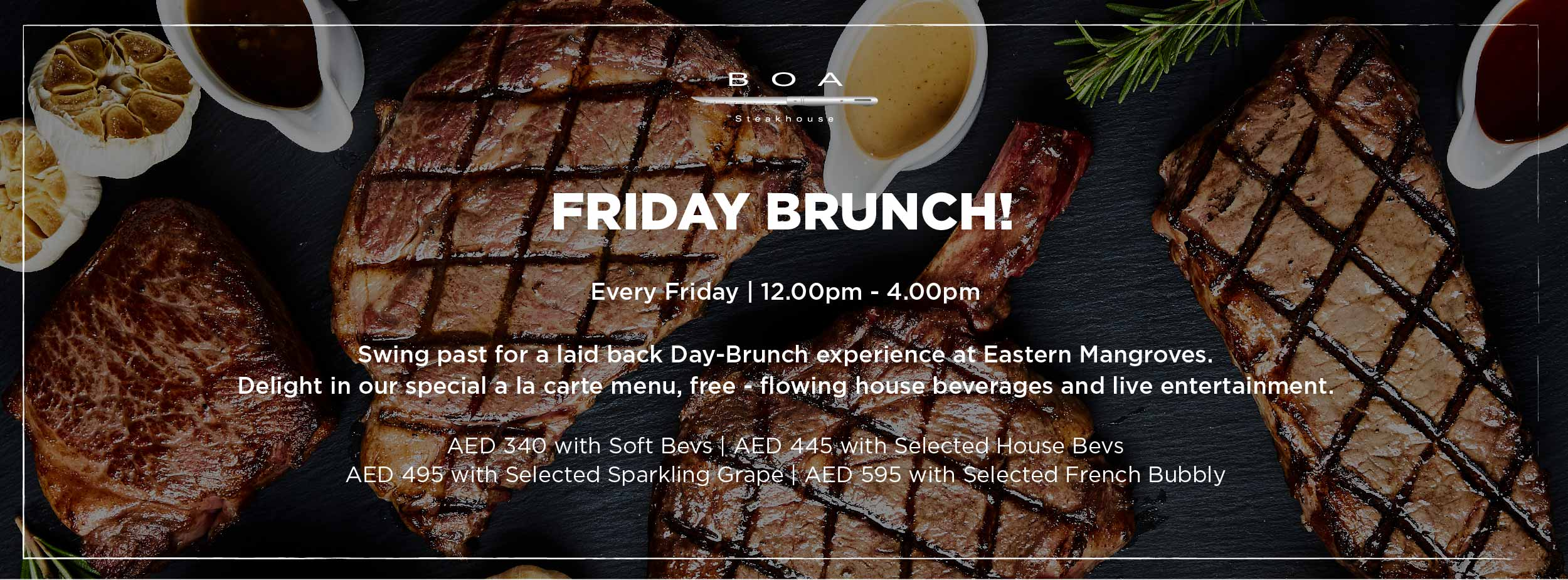 BOA - FRIDAY BRUNCH