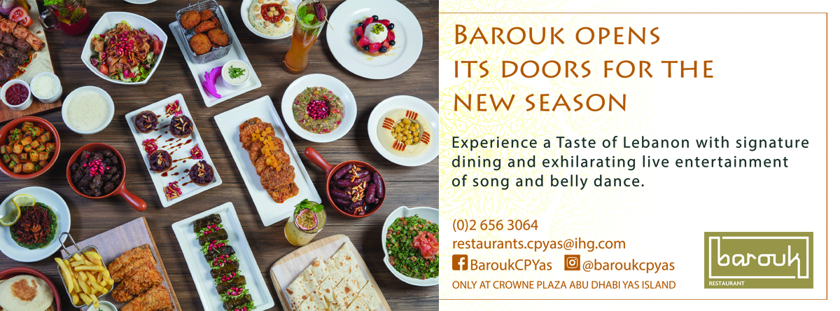 New Season of Barouk @ Crowne Plaza Yas
