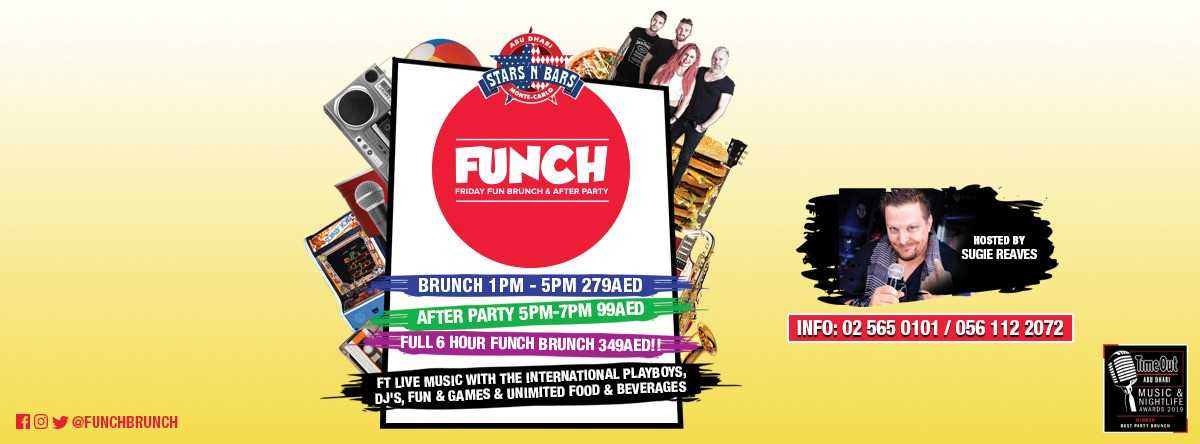 Funch Brunch @ Stars 'n' Bars