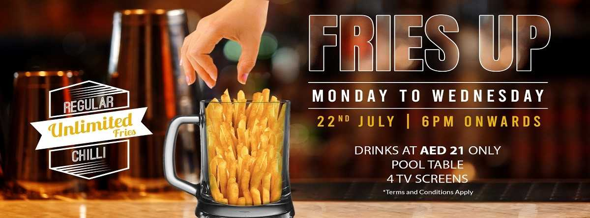 Fries Up @ The Championship Lounge