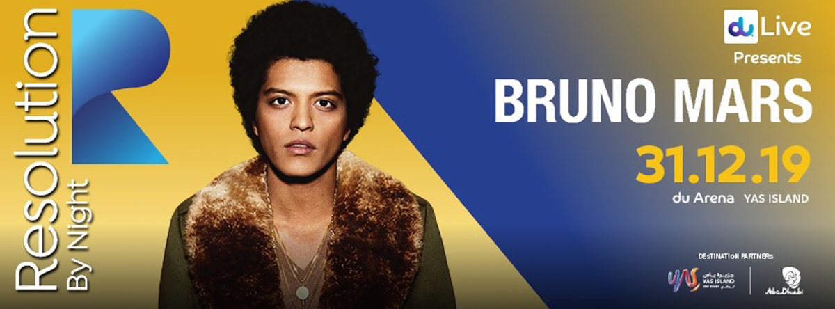 Bruno Mars - Resolution Festival @ du Arena