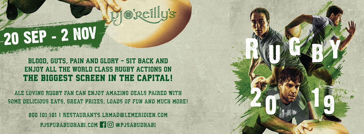 Rugby World Cup 2019 @ PJ O'Reilly's