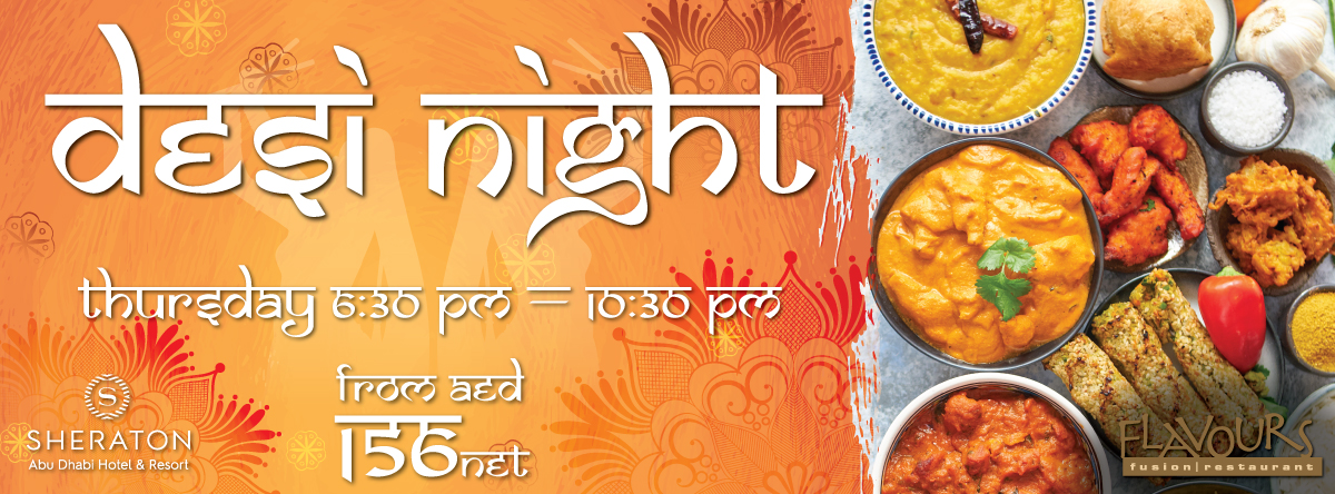 Desi Night @ Sheraton