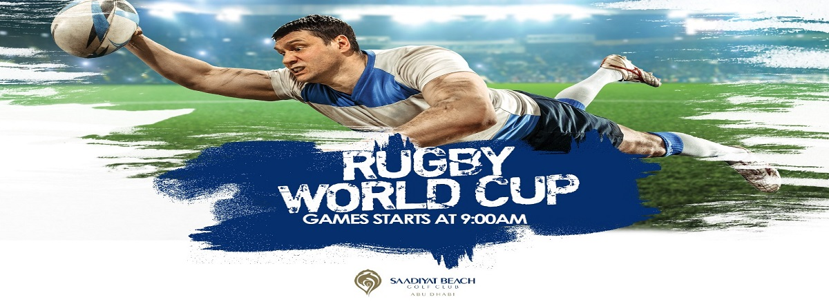 Rugby World Cup @ Saadiyat Beach Golf Club