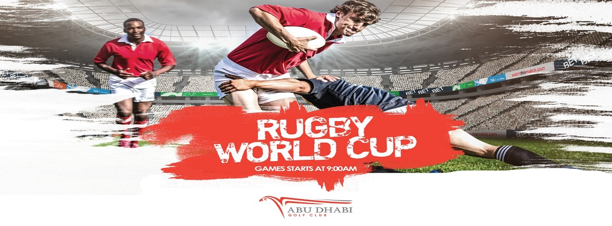 Rugby World Cup @ Abu Dhabi Golf Club