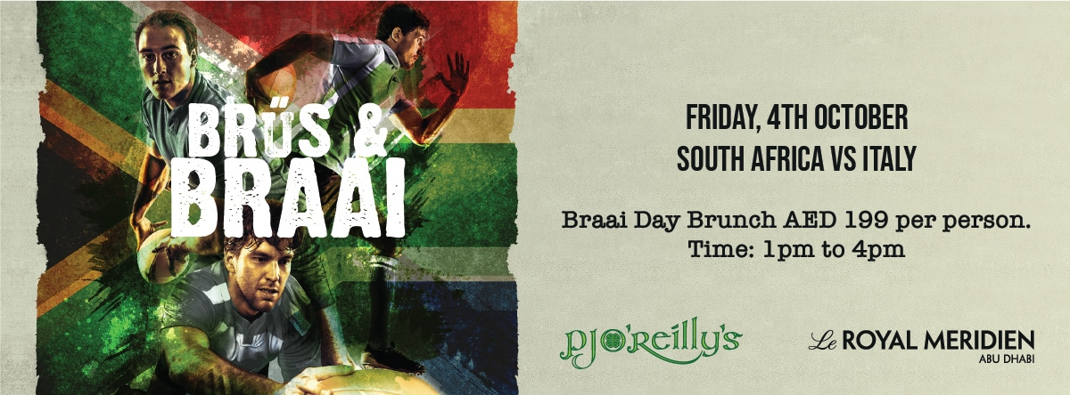 Braai Brunch @ PJ O'Reilly's