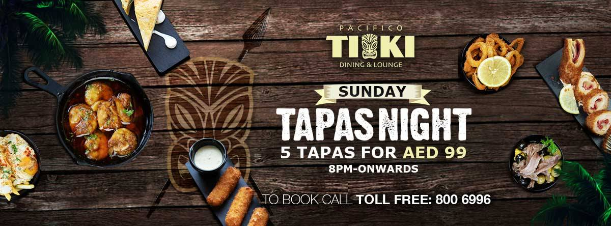 TIKI Tapas Night