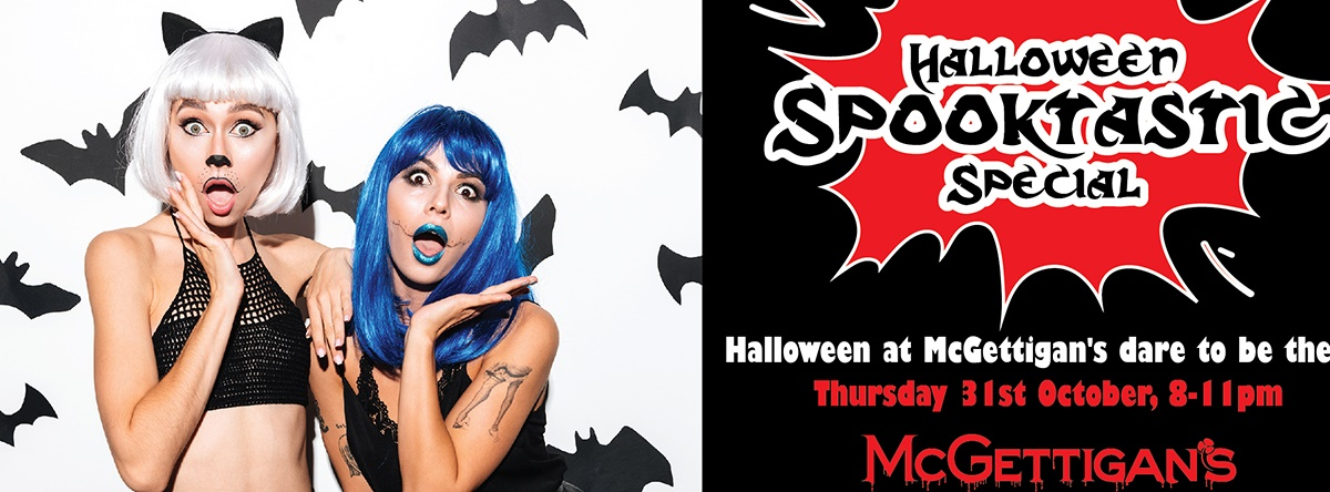 At Night We Play! Halloween Drunch Night Special @ McGettigan's