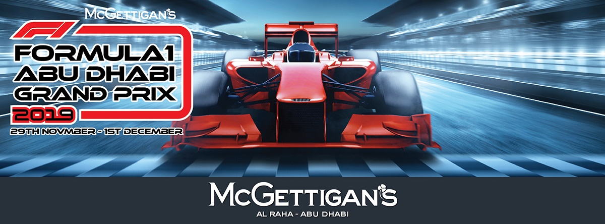 F1 Weekend @ McGettigan's Abu Dhabi