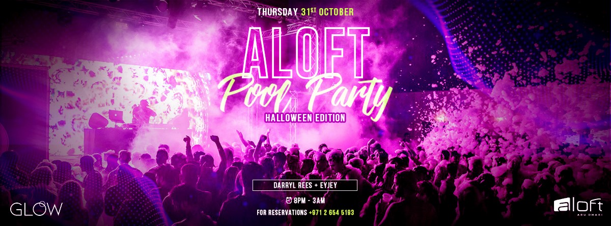ALOFT Pool Party Halloween Edition