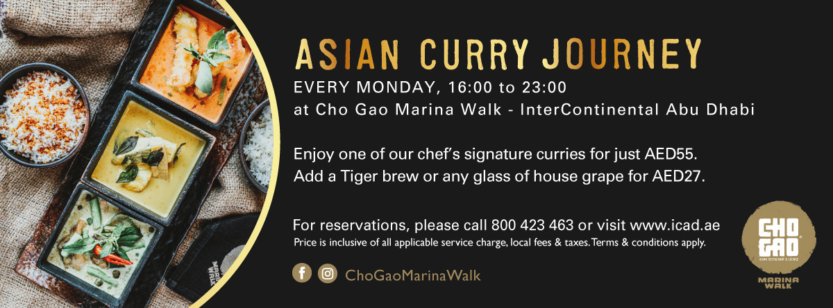 Asian Curry Journey @ Cho Gao Marina Walk
