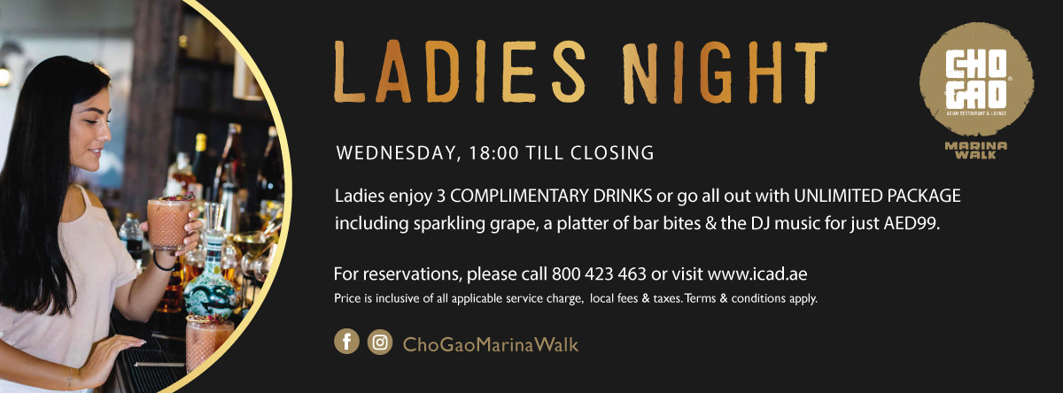Ladies Night @ Cho Gao - Marina Walk