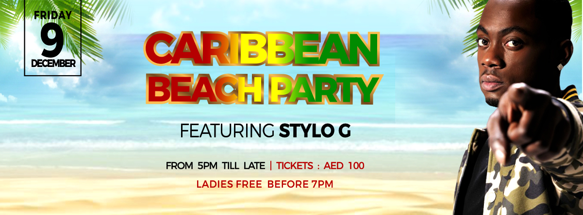 Caribbean Beach Party featuring Stylo G