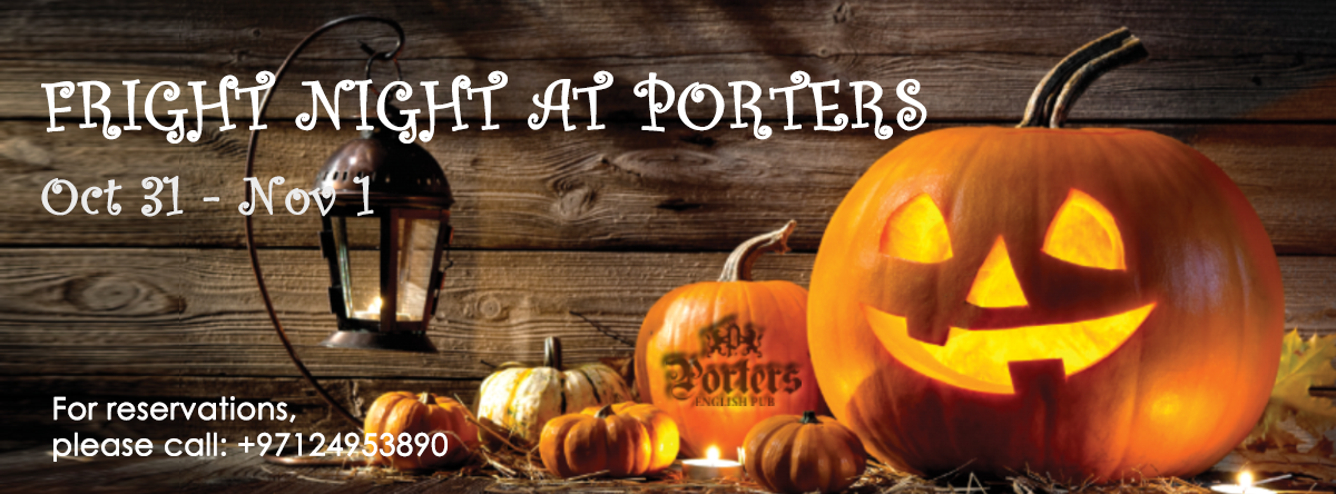 Fright Night @ Porters