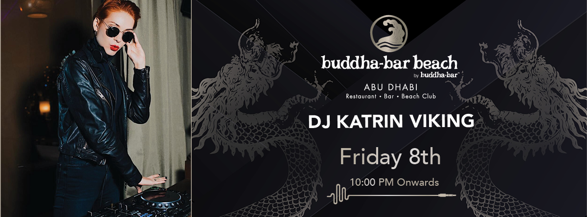 DJ Katrin Viking @ Buddha-Bar Beach Abu Dhabi