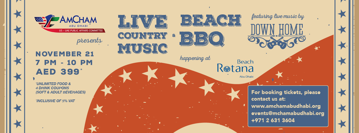 Live Country Music & Beach BBQ @ Beach Rotana Abu Dhabi