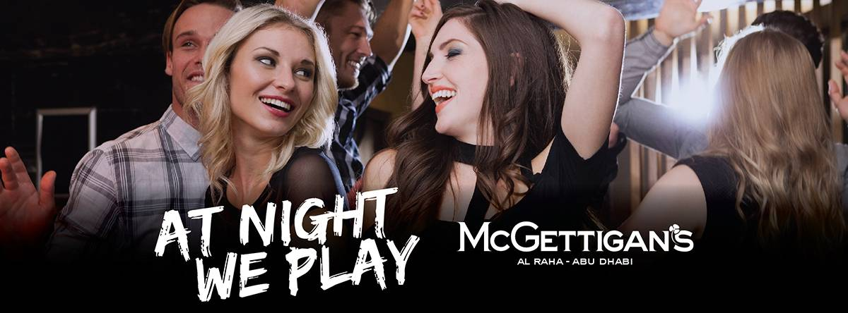 At Night We Play Ladies Night @ McGettigan's
