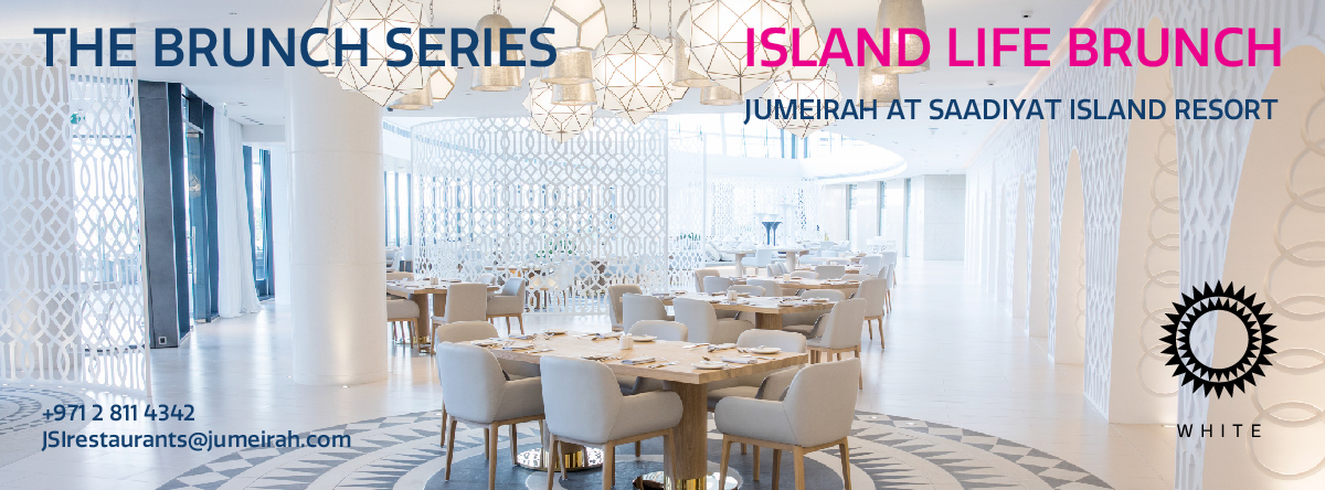 The Brunch Series @ JUMEIRAH AT SAADIYAT ISLAND RESORT