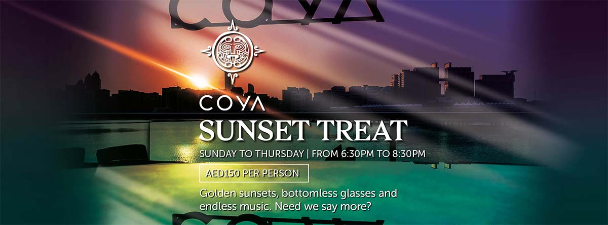 Sunset Treat @ COYA