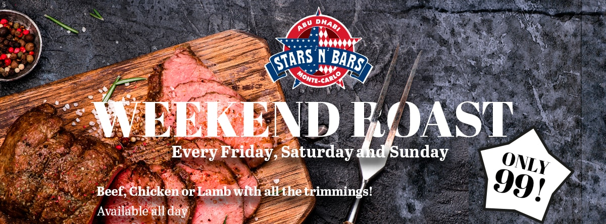Weekend Roast @ Stars N Bars