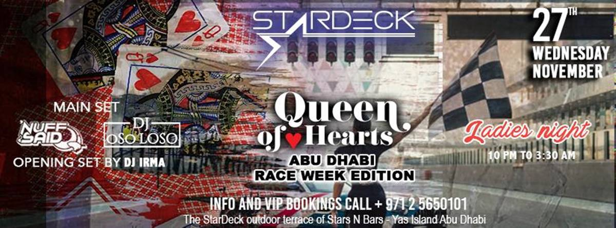Queen of Hearts @ The Star Decks