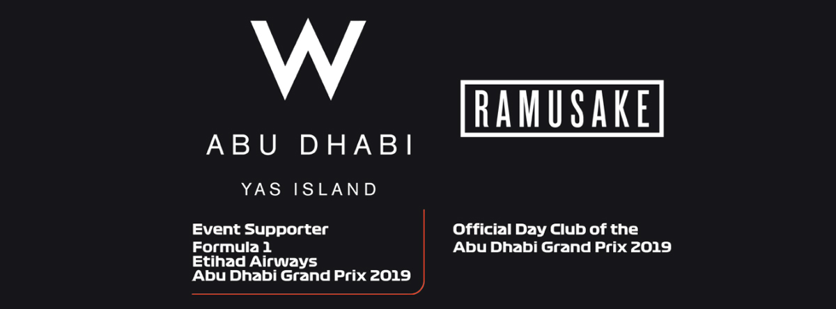 Ramusake F1 Pop-Up @ W Abu Dhabi