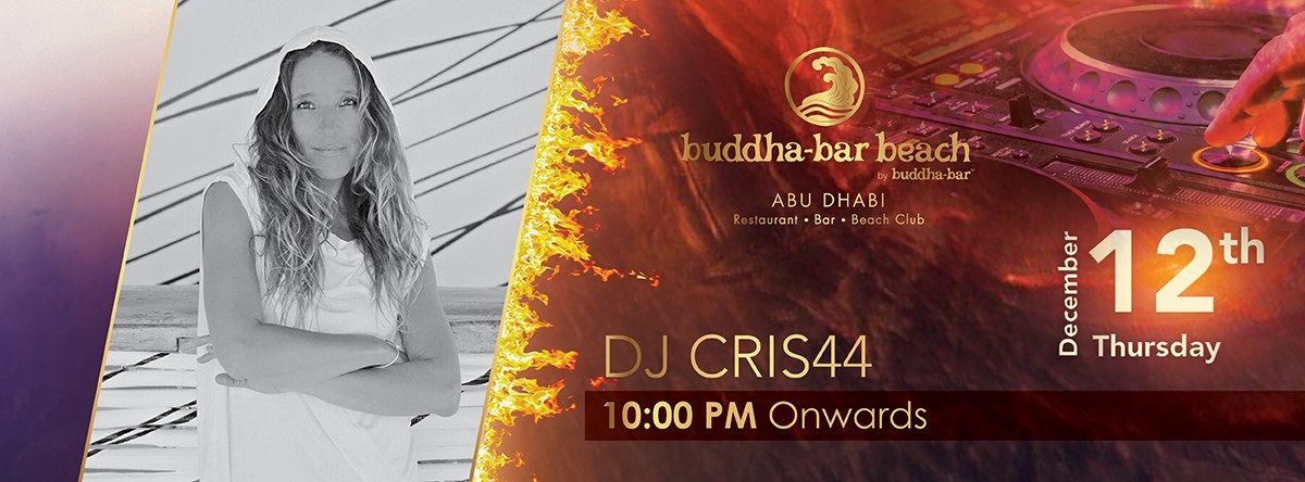 DJ Cris44 @ Buddha-Bar Beach