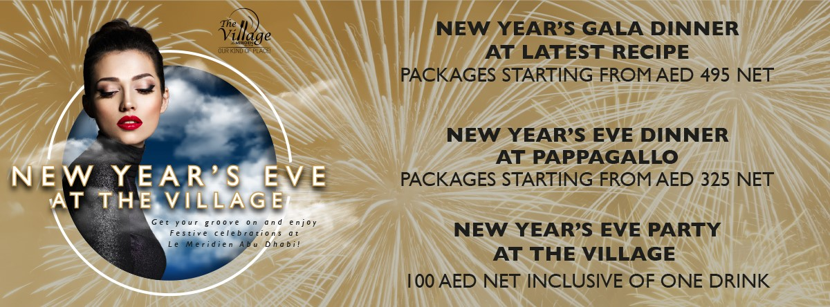 New Year's Eve Celebrations @ Le Meridien