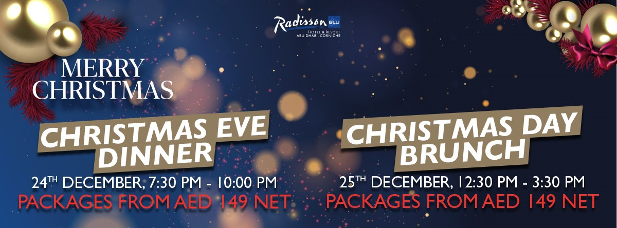 Christmas Celebrations @ Radisson Blu Corniche