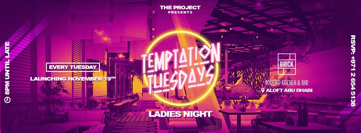 Temptation Tuesdays @ Brick Rooftop