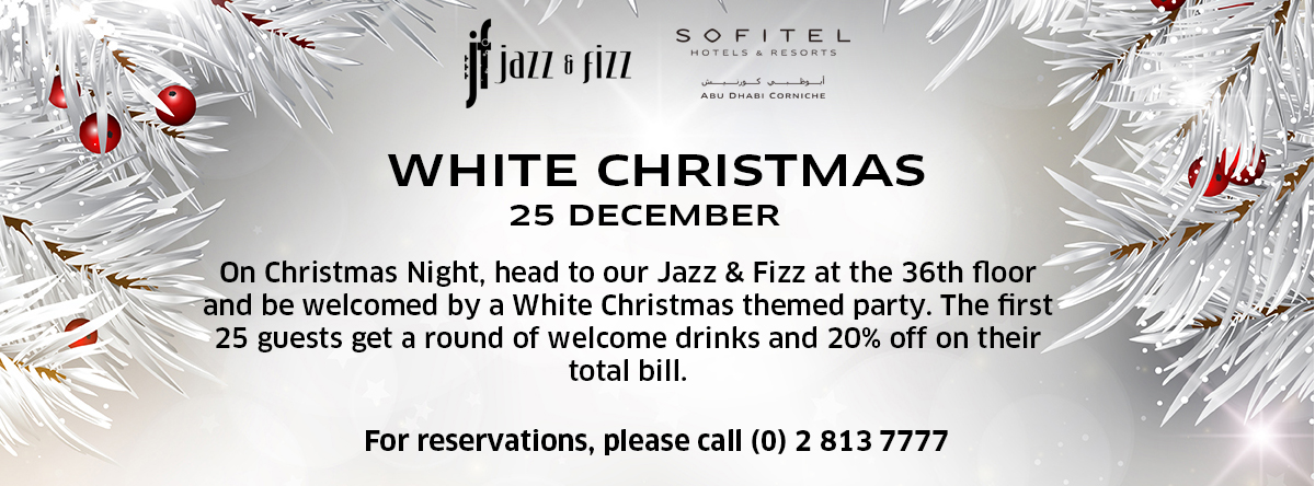 White Christmas @ Jazz & Fizz