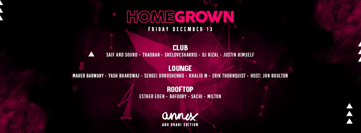 Homegrown @ Annex Abu Dhabi