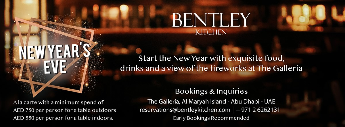 NYE @ Bentley Kitchen & Bar