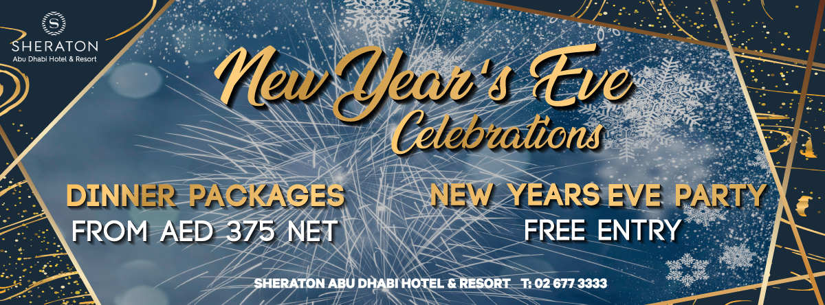 New Year's Eve @ Sheraton Abu Dhabi