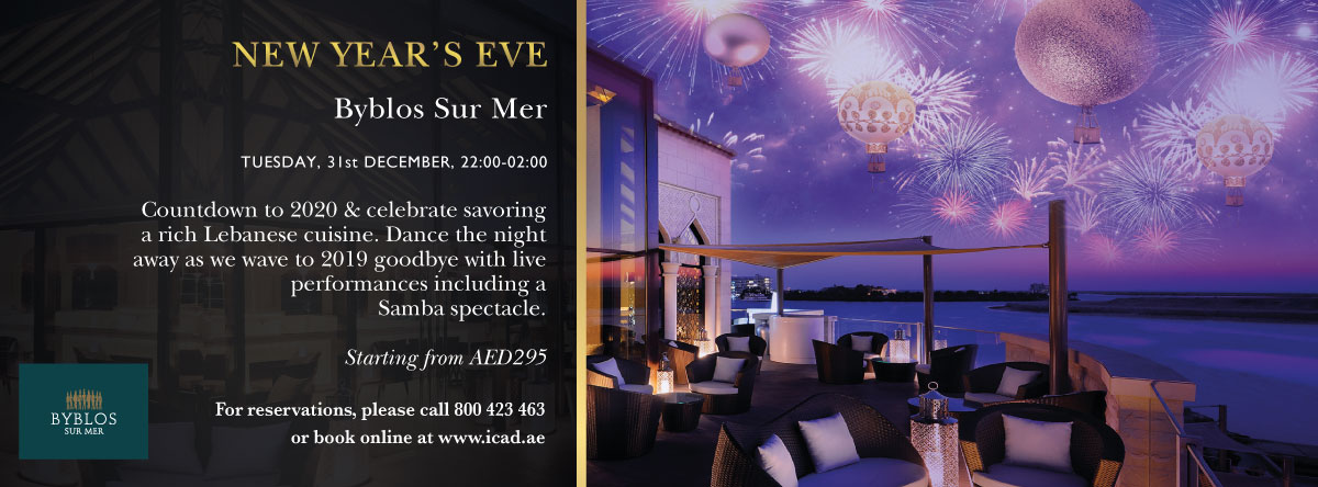 New Year's Eve @ Byblos Sur Mer